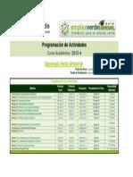 Programación Actividades DPTA 2015 4