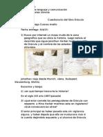 Cuestionario del libro Drácula