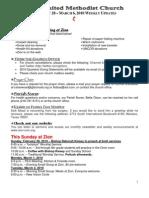 20100228 Announcements Print