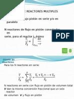 Sistema de Reactores Multiples
