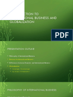 Introduction to International Business and Globalization