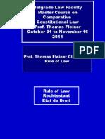 3 Rule of Law