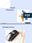 Retail Banking Products @ Asset