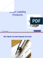 Retail Banking Products @ Liability