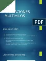 APLICACIONES MULTIHILOS