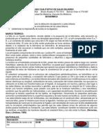 Analisis de Sales Biliares y Ensayo Enzimatico Para La Determinacion Del Colesterol Sanguineo