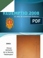 Redemptio 2008