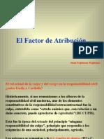 Factor de Atribucion