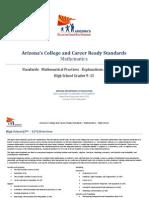 Azccrs Hs Math Standards Rev 2015-04-30