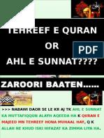Jawabat e sunniya fi rdd tehreef e kitab e rabbaniyyah