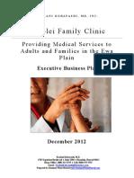 Kobayashi Medical Practice Business Plan