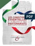 Les conditions essentielles à la réussite de paretnariat école-famille-communauté - CoeurÉaction (CTREQ)