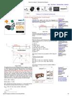 Shear Force Diagram - Bending Moment Diagram