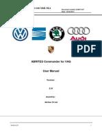 ABRITES Commander for VAG Manual