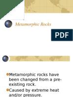Identifying Metamorphic Rocks (PPT)