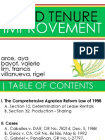 AgraLaw - Land Tenure Improvement