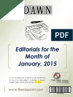 DAWN Editorials