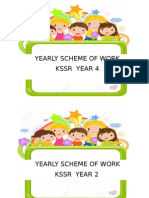 Yearly Scheme of Work Cover y2 y4 English