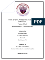 Code of Civil Procedure and Law of Limitation