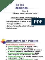 Teoría de Las Organizaciones -Clase 2 2012 I