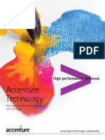 Accenture Technology Helping Transform Business