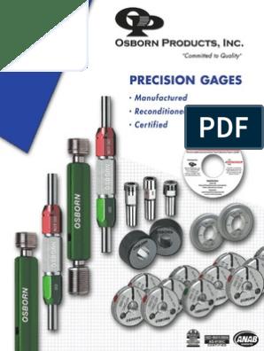 Tolerance Class ZZ 7.15mm Gage Diameter Vermont Gage Steel Go Plug Gage