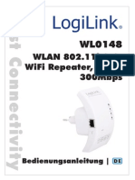 Logilink Wlan Repeater Wl0148 manual