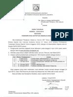 Surat Edaran Kepala Bkd No 32 Tahun 2015