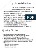 Quality Circle Definition