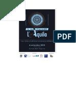 Programma L'Aquila (Nomi e Progetti)