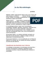 Microbiologia - classificação