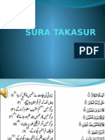 Sura Takasur