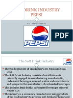 Soft Drink Industry Pepsi