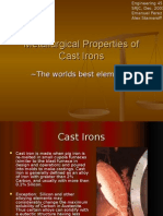 Metallurgical Properties of Cast Irons