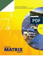 Matrix Energy Catalogue 2010