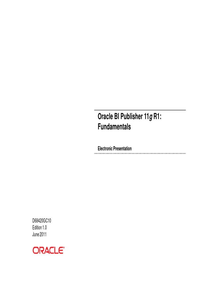 Oracle bi publisherpdf oracle database computer data baditri Images
