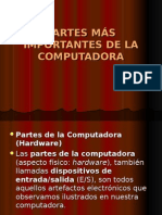PARTE MÁS IMPORTANTE DE LA COMPUTADORA