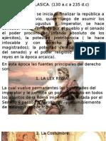 Derecho Romano Constituciones
