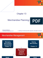 merchandize planning retail budgeting