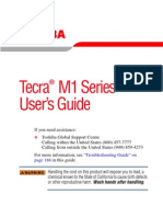 Tecra M1 Series User's Guide