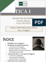 ÉTICA I. Tema 8. 2013-14