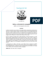 Cafeina y Determinacion Cromatografica