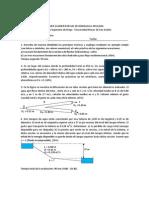 Primer Examen Parcial de Hidraulica Aplicada