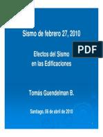 Efectos Del Sismo Sr. Tomas Guendelman