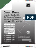 Manual 62'' DLP