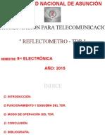 TDR - Presentacion