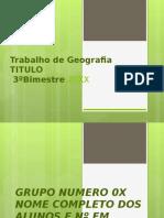 MATRIZES CULTURAIS BRASILEIRA CORREÇÃO DO TRABALHO COM TEMA OU Design.ppt