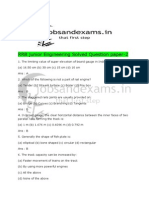 RRB Junior Engineering Solved Question Paper 2