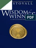 Wisdom for Winners - Stovall, Jim