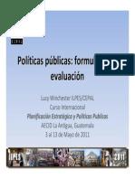 Planeación Estratégica y Políticas Públicas